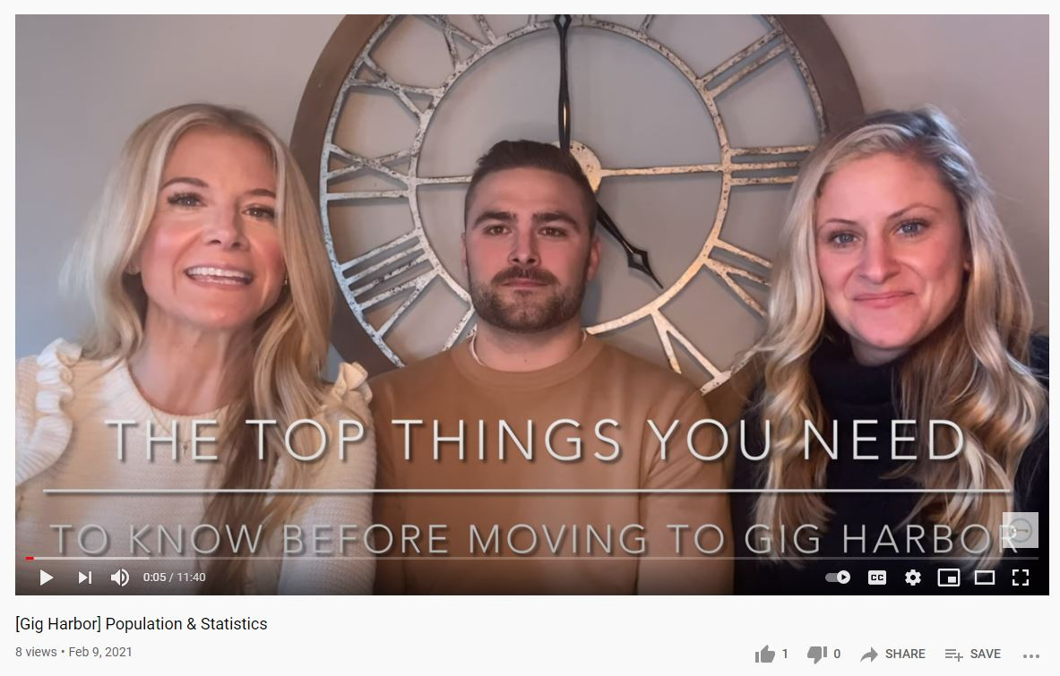 The things you need to know about before you move to Gig Harbor