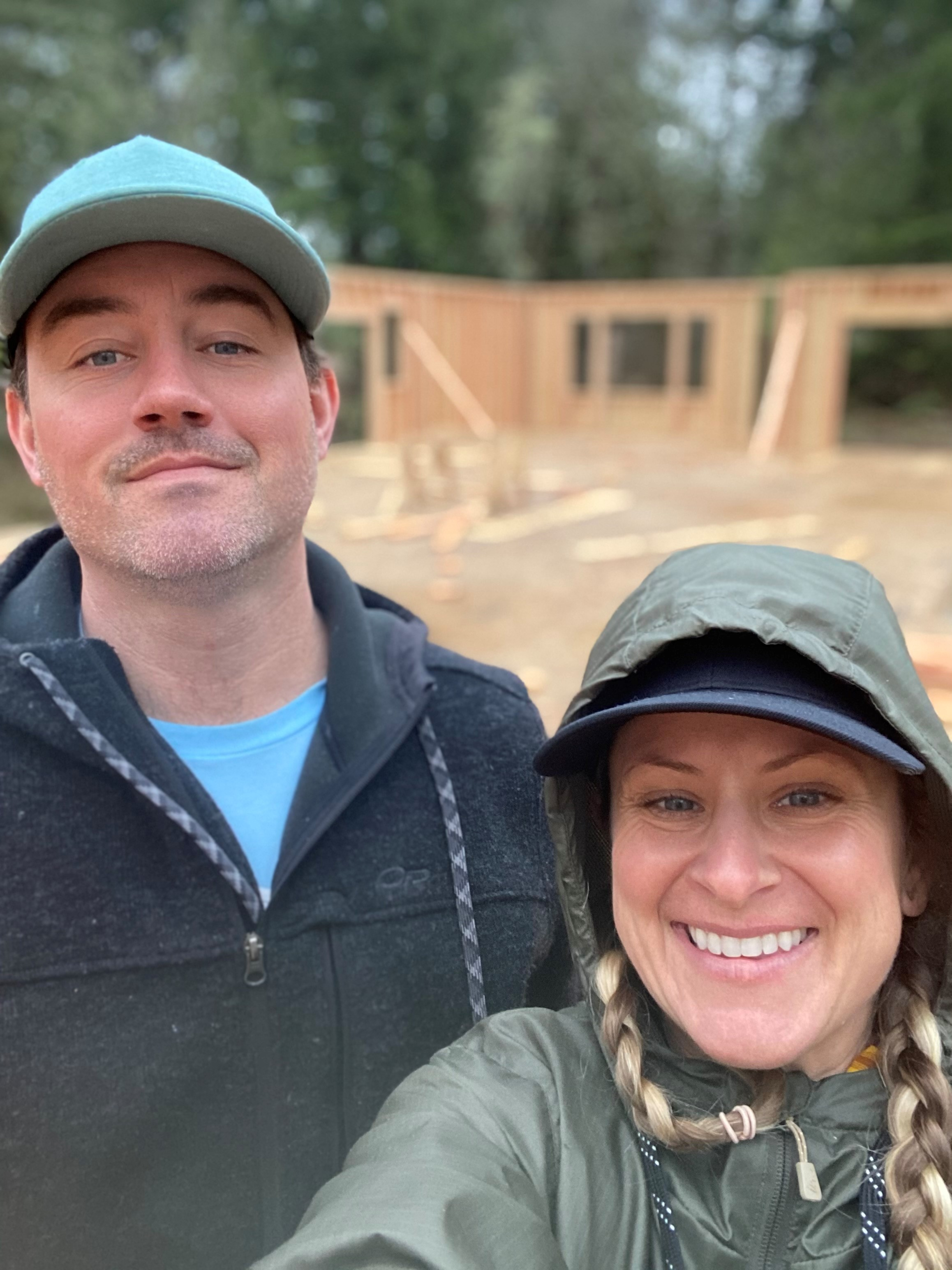 We are officially vertical ( 820 days after we sold our last home )